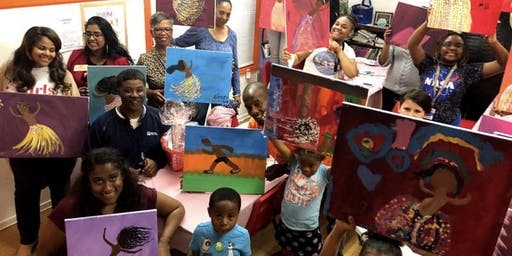 Day of the Girl Paint Nite Fundraiser!