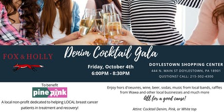 Denim Cocktail Gala Benefiting Pine2Pink tickets