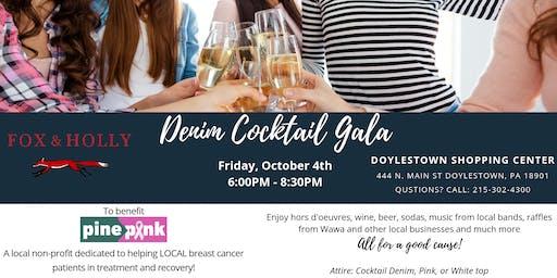 Denim Cocktail Gala Benefiting Pine2Pink