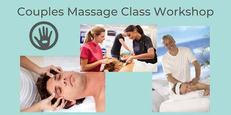 Couples Massage Class Workshop 90 Minutes tickets