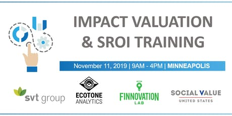 Impact Valuation and Social Return on Investment (SROI) Training tickets