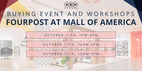 Buying Event & Workshops at Fourpost Mall Of America  tickets