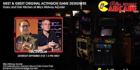 Meet & Greet w/ Garry & Dan Kitchen of Activision Games! tickets