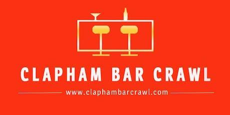 Clapham Bar Crawl tickets