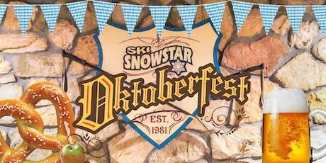 Snowstar Oktoberfest featuring SnowStein Games tickets