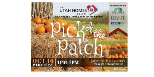 The Utah Homes Team at Jaker's Pumpkin Patch