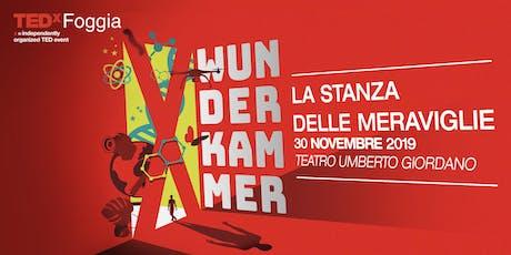 Wunderkammer - La stanza delle meraviglie biglietti