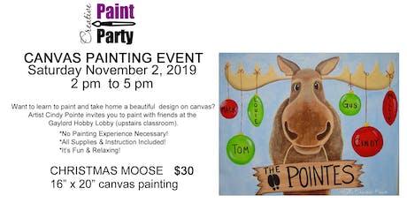 Christmas Moose -- Saturday November 2nd2 pm tickets
