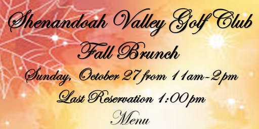 SVGC Fall Brunch