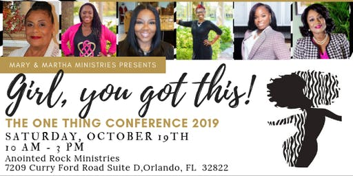 The One Thing Conference 2019