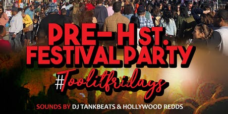 PRE-HSt Festival Party #TOOLITFRIDAYS @ ON THE ROCKS DC (FREE RSVP NOW)  tickets