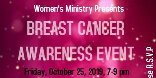 WDCC Women's Ministry Annual Breast Cancer Awareness Event