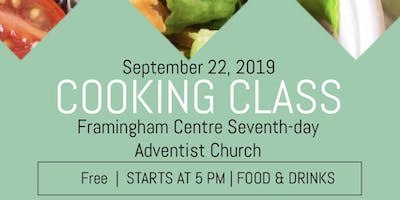 Cooking class- plant based recipes