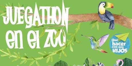 Juegathon en el Zoo entradas