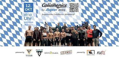 Calisthenics für Bayern 2019 Tickets