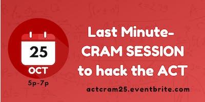 ACT CRAM SESSION (OCT)