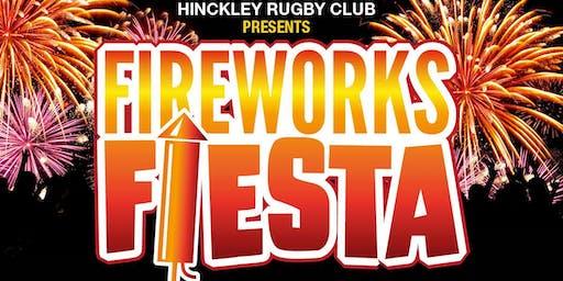 Hinckley Rugby Club Firework Fiesta 2019