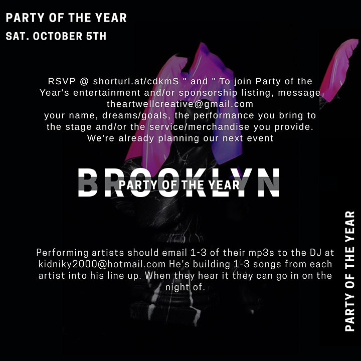 Rose Party | Brooklyn image