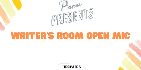 Writers Room Open Mic tickets