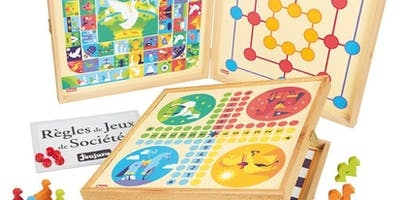 Play Board Games in French on Saturday Nov 16, 10 AM to noon