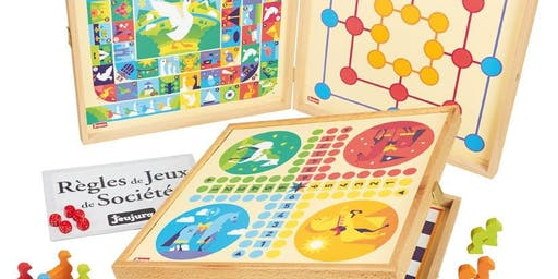 Play Board Games in French on Saturday Oct 26, 10 AM to noon