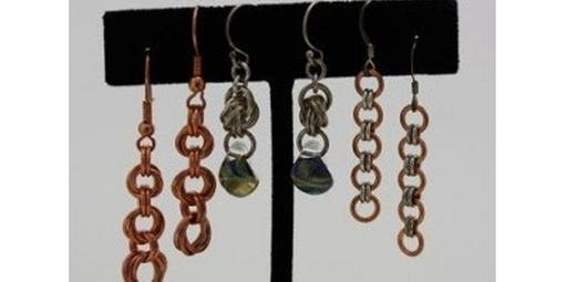 Beginner Chain Maille Earrings (Scottsdale - Jan) (2019-11-22 starts at 2:00 PM)