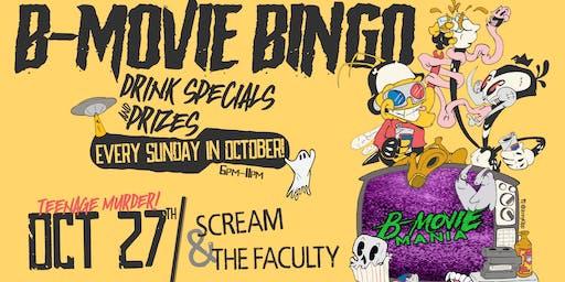 B-Movie Bingo: Scream & The Faculty