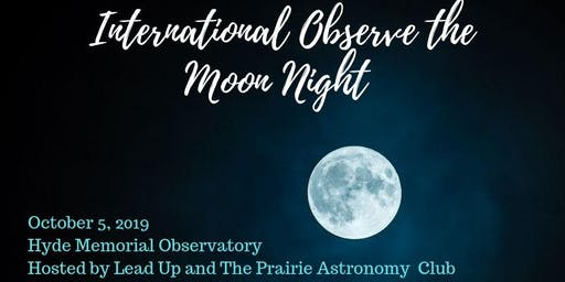 Star Party & International Observe the Moon Night