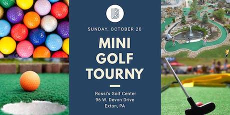 Chester County Mini Golf Tournament tickets