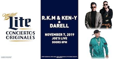 Miller Lite Presents: R.K.M & Ken-Y + Darell __Nov 7 - Chicago, IL tickets