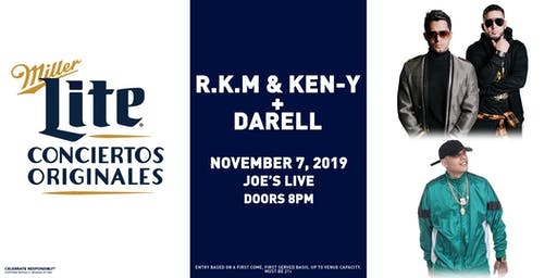 Miller Lite Presents: R.K.M & Ken-Y + Darell __Nov 7 - Chicago, IL