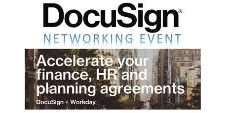 DocuSign for Workday - Networking Happy Hour tickets