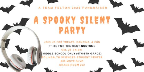TEAM FELTON 2026 PRE-HALLOWEEN SILENT PARTY tickets