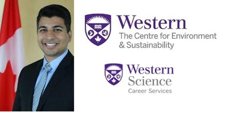 Speaker:  (Western Alum) Sunny Uppal, Environment & Climate Change Canada tickets