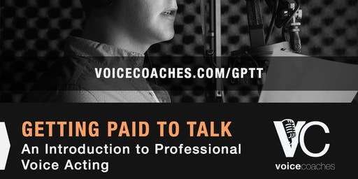 Wilmington- Getting Paid to Talk, An Intro to Professional Voice Overs