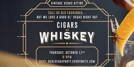 Cigars & Whiskey Upscale Vintage Vegas Theme Night Out tickets