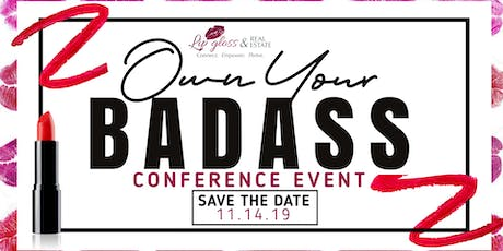 Own Your Badass Conference Event tickets