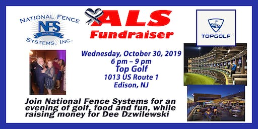 ALS Fundraiser for Dee Dzwilewski at Top Golf  by National Fence Systems