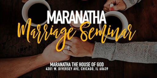 Maranatha Marriage Seminar