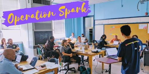 Operation Spark Brunch & Learn