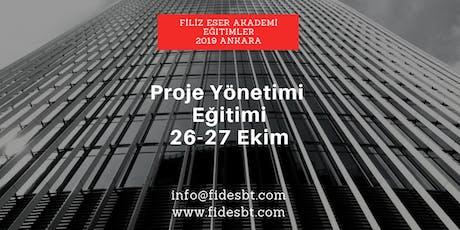 Proje Yönetimi Eğitimi - Ankara tickets