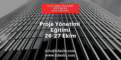 Proje Yönetimi Eğitimi - Ankara