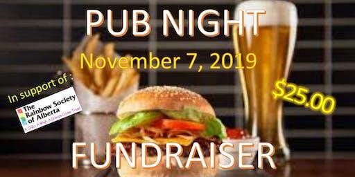 Pub Night Fundraiser