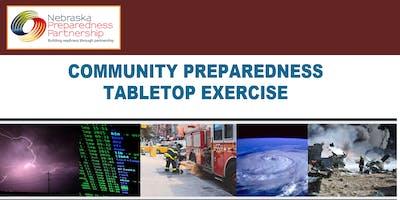 Community Preparedness Tabletop Exercise