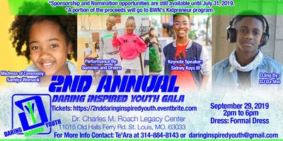 2nd Annual Daring Inspired Youth Gala