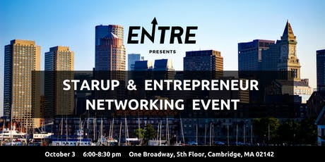 Startup & Entrepreneur Networking Event - Boston tickets