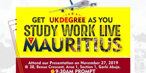 STUDY / WORK / LIVE IN MAURITIUS
