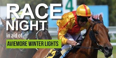 Race Night - raising funds for Aviemore Winter Lights
