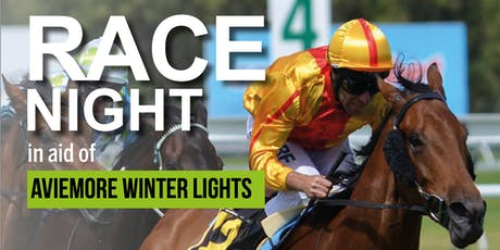 Race Night - raising funds for Aviemore Winter Lights tickets