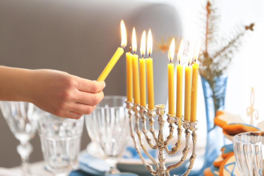 First Light of Hanukkah